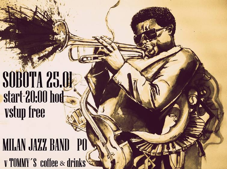 Milan Jazz Band // 25. januar 2014 // Tommys coffee & drinks