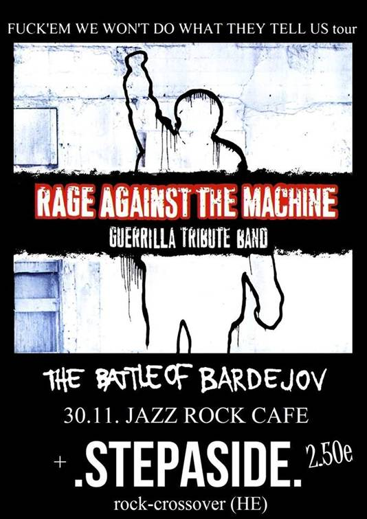 Rage Agaist The Machine gtb // 30. november 2013 // Jazz/Rock/Cafe
