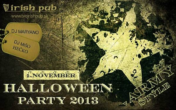 Halloween party 2013 // 1. november 2013 // Irish pub