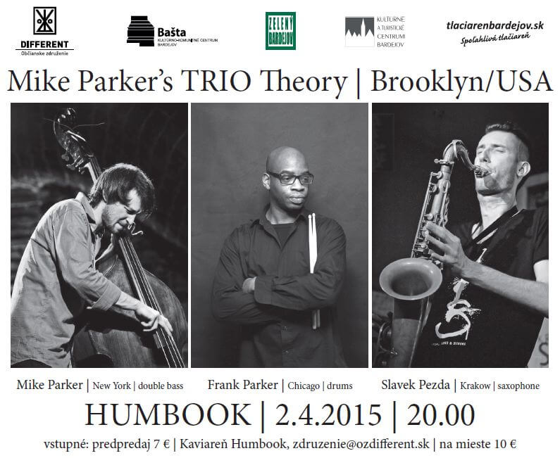 Picture,poster,plagat, MIKE PARKERS TRIO THEORY,HUMBOOK,